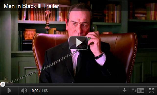 ตัวอย่างหนัง Men in Black III 2012