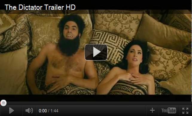 ตัวอย่างหนัง The Dictator จอมเผด็จการ 2012