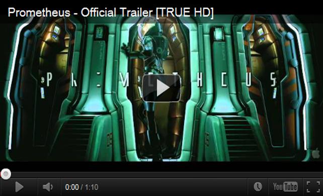 ตัวอย่างหนัง Prometheus 2012