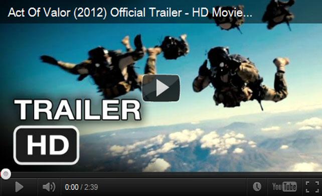 ตัวอย่างหนัง Act of Valor 2012